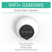Wireless home security WiFi alarm system, Android+IOS APP control GSM WiFi alarm home automation system