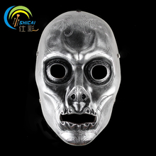 Harry Potter Mask Movie Theme Resin Mask Cosplay Party Decorative Props Silver