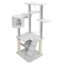 Wooden cat tree, durable pet house, made in China cat tree