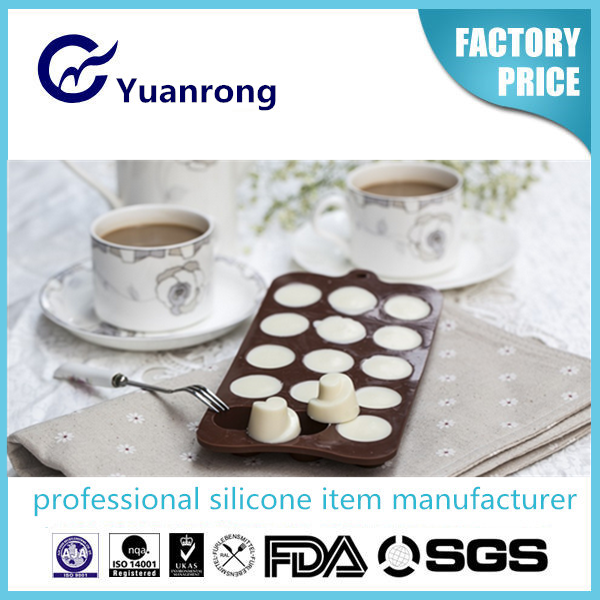 Best Seller Non-stick Silicon Mold for Chocolates, Muffins and Cakes