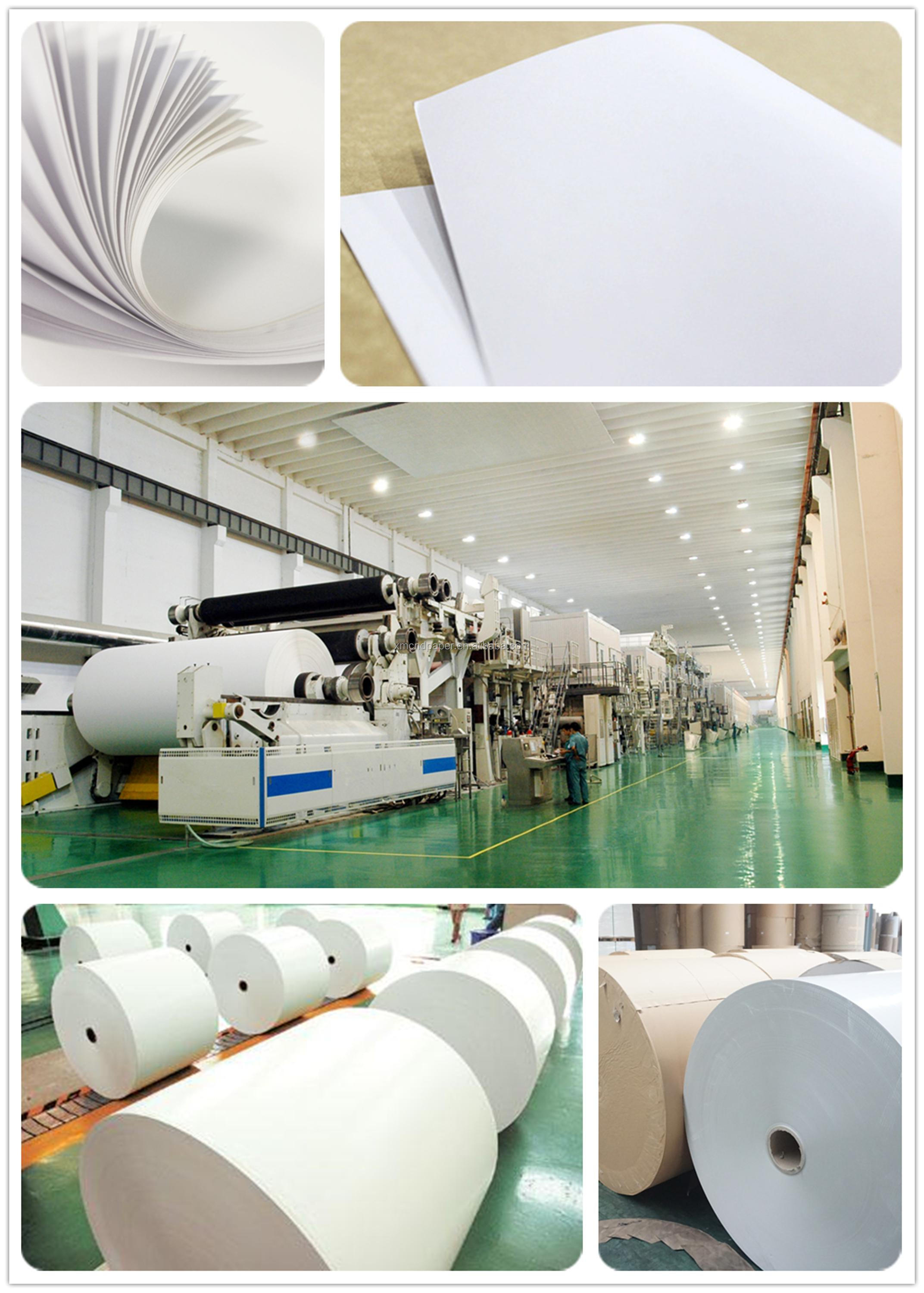 High Quality Offset Printing Woodfree Pulp Offset Paper Woodfree Printing Paper