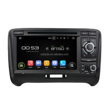 Support original car rear camera and amplifier and USB android 7.1.2 car stereo system for TT