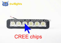 Auto parts off road led light bar 60W 11 inch single row led bar light led head lamp