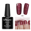 Mixcoco Soak Off Uv Gel With Nail Glitter Dust Shining Color Led UV Gel Nail Polish For Gel Nail Beauty