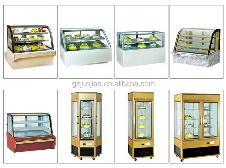 refrigerated bakery display Cake Refrigerator case