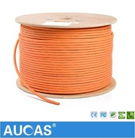 305m 1000ft LSZH 23 AWG 4 Solid Bare Copper Cat 7 Ethernet Cable