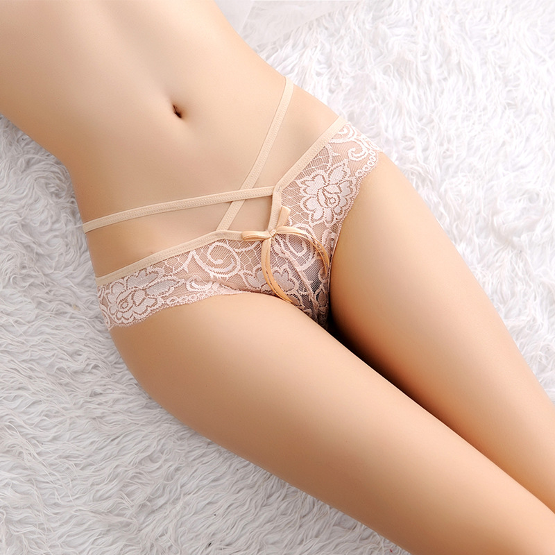 B30155A European hot selling transparent sexy young girls T-back lace panty