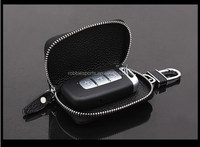 Factory Audit Passed High quality Leather car key bag Unique key wallets key case with Key chain