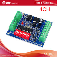 4CH RGBW dmx512 dimmer Controller,4 channel Easy dmx 512 dimmer,LED DMX512 decoder