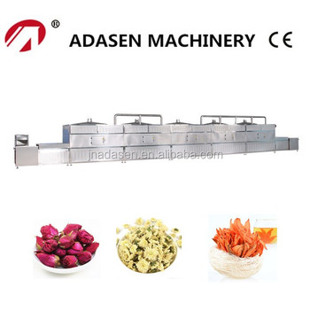 New products industrial microwave drying machine for flowers