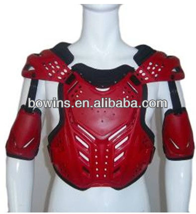red high foam PE shell motorcycle armor