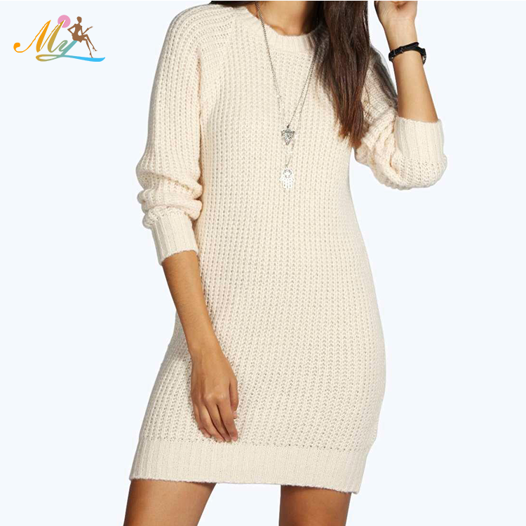 Manufacturer Direct Sale Women Knitwear long sleeve round neck sweater