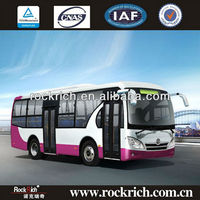 Dongfeng EQ6850P3G 8.5m buses for sale Euro III engine 40 seats