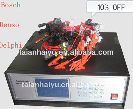 High Pressure Common Rail Diesel Injector Tester for Bosch, Denso and Delphi Injector & Nozzle