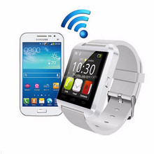 New model mtk 6261 gsm wrist smart watch phone U8