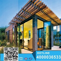 China Beautiful modular buildings prefab container shop/ homes/hotel