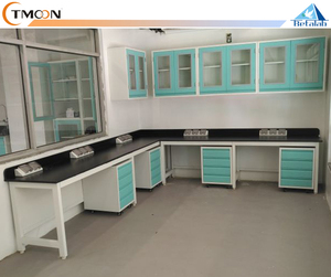 NEW TYPE Steel chemical medical lab Work bench with drawer / wheel