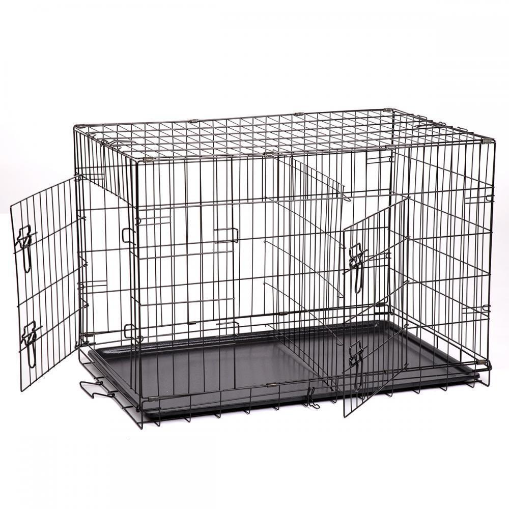 "36"" High Quality Metal Pet Folding Suitcase Dog Pet Cage"