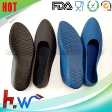 High heel lady silicone rubber shoe cover rain shoe