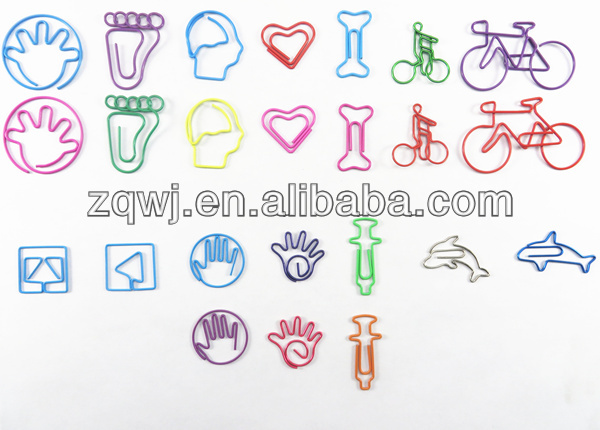 Specialty paper clips Advertising crafts