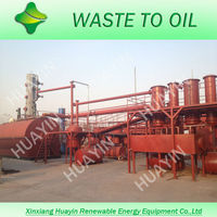 3/5/10T Waste Oil Refinery Fractionation Plant To Diesel With Cooling tower, boiler and other important units