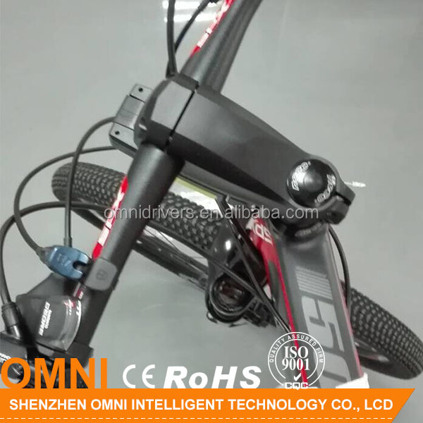 Factory direct sell speed and distace show bike computer with gps