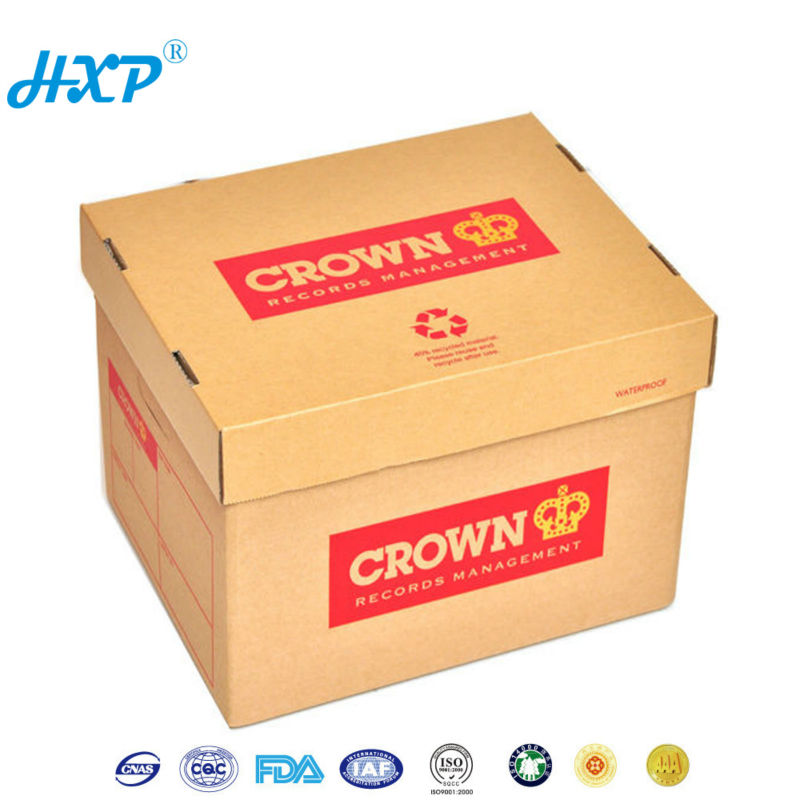 wholesale large custom paper board storage box
