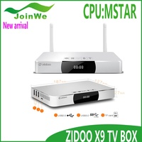 2016 Zidoo X9 Bluetooth 4.0 Dual Band Wi-Fi Mali450 GPU Android 4.4 kitkat smart tv box