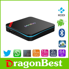 New product 2016 Pendoo X9 Pro S912 2g 16g Cable set top box price international full hd kodi smart tv box