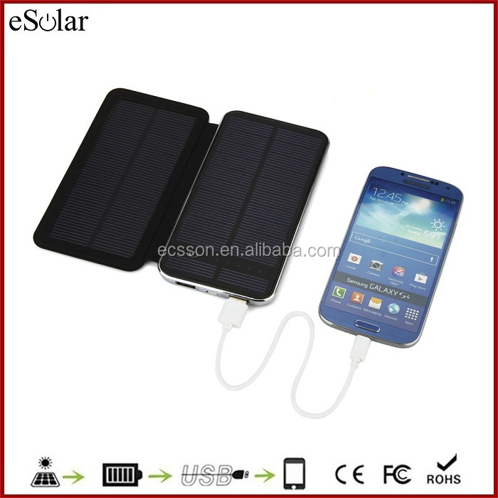 solar cell phone charger modern power bank case power bank solar mobile phone chargers
