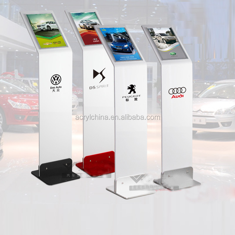 Custom Advertising Display Acrylic Outdoor Advertising Equipment