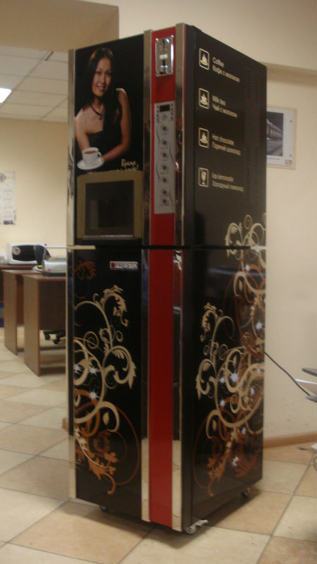 espressso&cappuccino&latte&mocha&hot chocolate coffee vending machine with Coin Operation F306DX