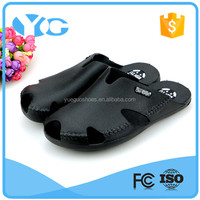 fashion men closed toes beach slippers sandals outdoor slip-on slippers