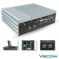 Intel Quad Core Based Embedded Fan-less System with 6 GbE for 4 Copper & 2 Fiber SFP Sockets