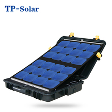 Portable solar mobile power Box 75W all-in-one design high quality solar panel charger box