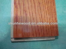 Click Oak Engineered Wood Flooring Jatoba Color Smooth UV lacquered