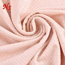 72Nylon 28Spandex Shiny Lycra Microfiber Ripstop Jacaquard Fabric For Fashion Knitted Fabrics for Men and Women