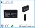 6V 7AH sealed lead acid battery for signal systems