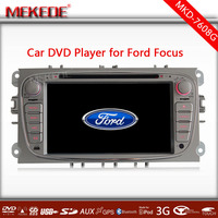 Two Din 7 Inch Car DVD Player For FORD FOCU S 2 MONDEO S-MAX CONNECT 2008-2011 With Wifi 3G Radio GPS RDS BT TV 1080P Ipod