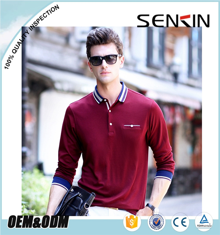 Wholesale casual wear fashional mens polo shirt