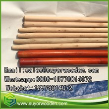 Straight Natural Wooden Broom Handle Mop Sticks from china broom stick