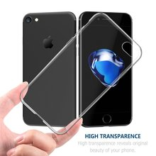 2017 New Design Top Sale Ultra thin Transparent Tpu Pc For Iphone 7 Case
