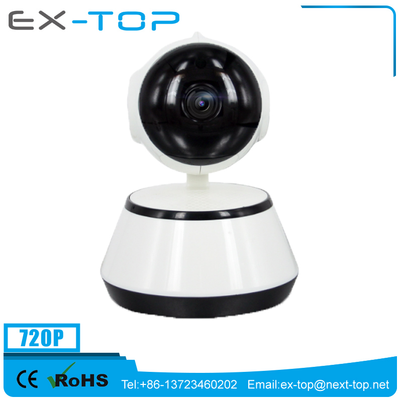 high quality 720P onvif p2p wifi hd ip long time recording camera