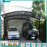 Single Top Quality Cheap Strong Rv Shelter Metal Canopy Steel Material Carport