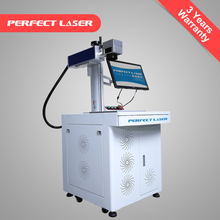 Mini 20W fiber electronic laser marking for printed circuit board, chip,mobile phone shell