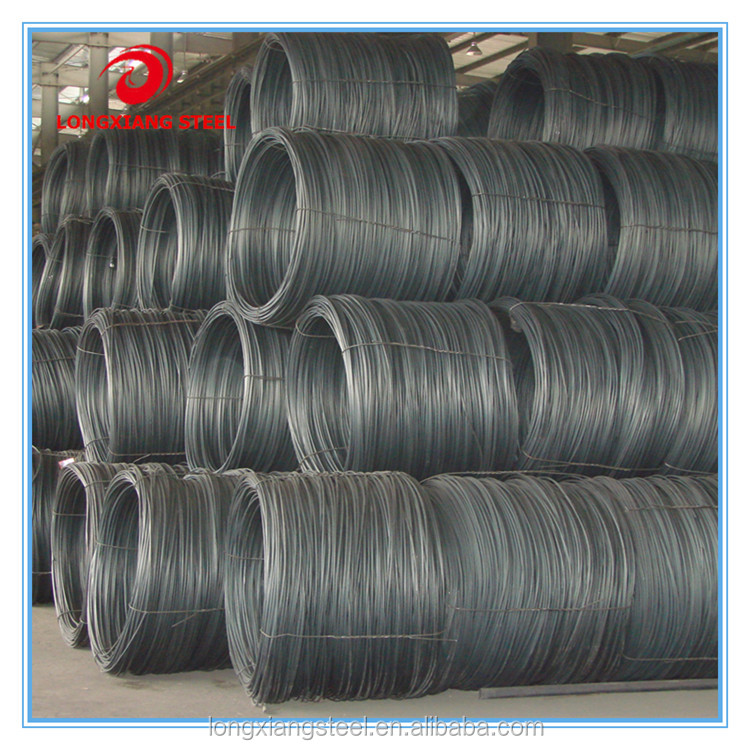 5.5mm Steel Wire Rod for Cold Drawing Nail Making and Building Material (SAE1006 SAE1008 SAE1010)