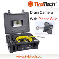 cctv pipe inspection camera with 23mm stainless head and Sony CCD