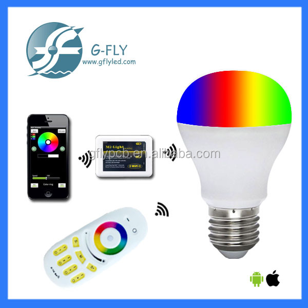 2016 Alibaba China E27 6W 9W wifi led bulb light