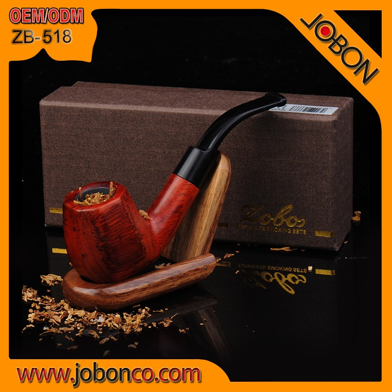 Zobo Classical wooden tobacco pipe _ ZB-518YD