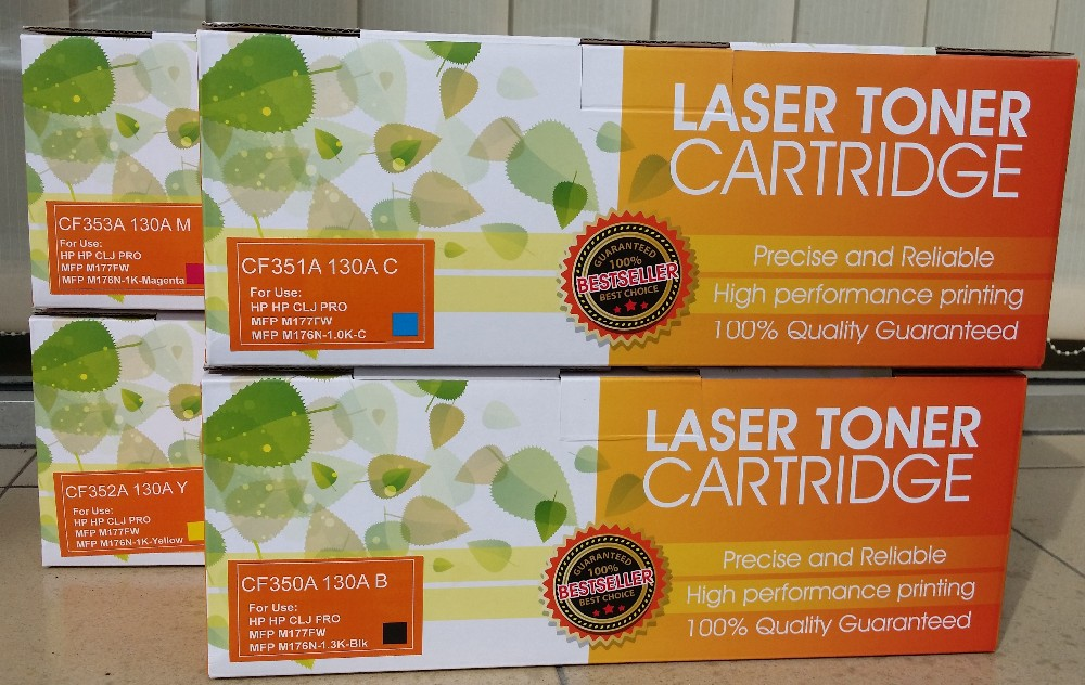Remanufactured Color Toner Cartridge